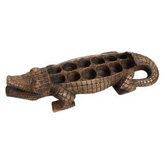 Alligator Awale Game Board For Sale