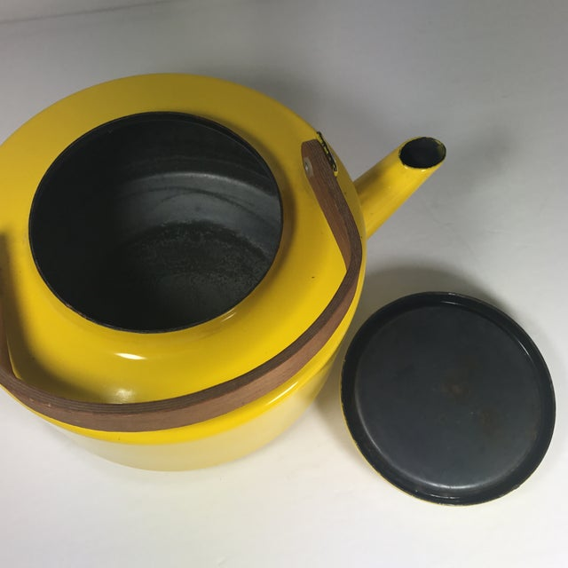 Enamel Copco Mid-Century Tea Kettle For Sale - Image 7 of 9