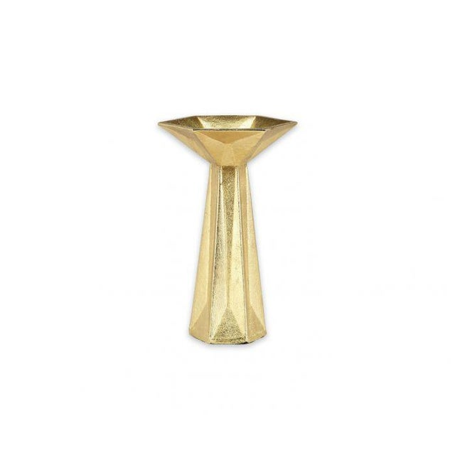 Tom Dixon Gem Candlestick Gold For Sale In Los Angeles - Image 6 of 6