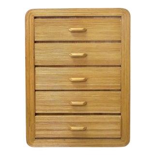 Gabriella Crespi Style Rattan Dresser