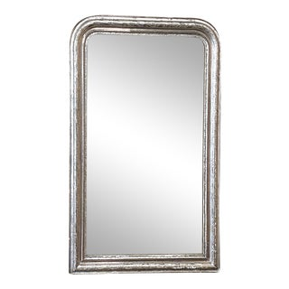 Louis Philippe Period Silvered Mirror For Sale