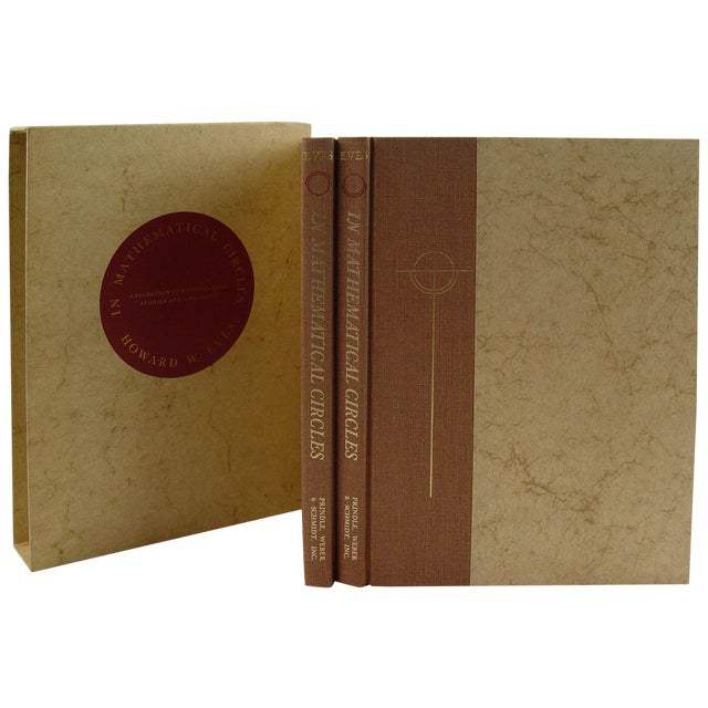 In Mathematical Circles Book by Howard Eves - Image 1 of 6