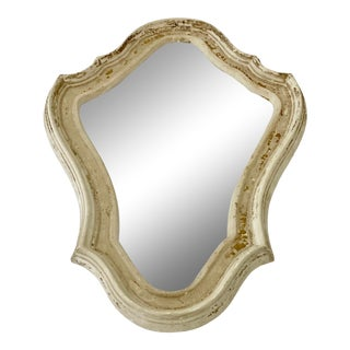French Shield Crest Shaped Plaster Molding Frame For Sale