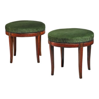 Pair of Boet stools, Sweden, 1920s-30s For Sale