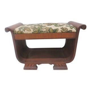 Deco Style Vanity Bench