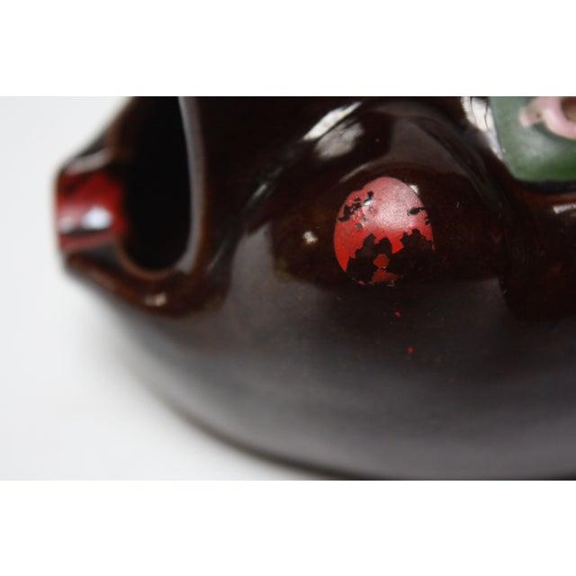 Hand-Painted Folk Art Porcelain 'Pig' Ashtray For Sale - Image 10 of 13