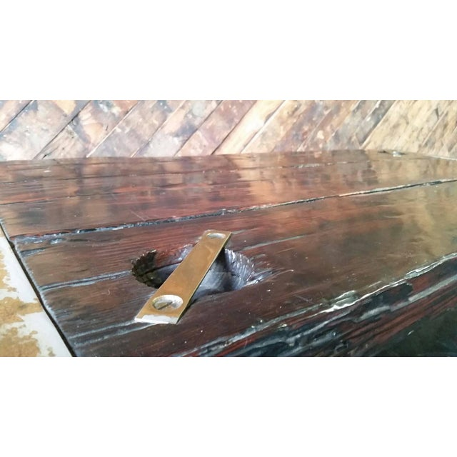 Wwii Ship Hatch Door 1960s Coffee Table Chairish
