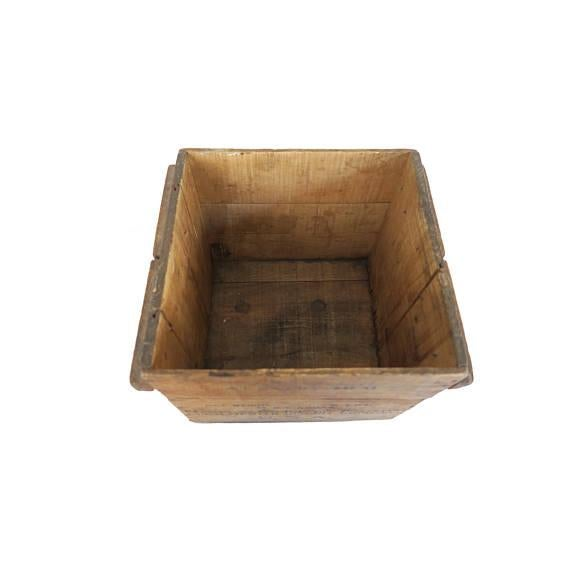 Antique Manchester Biscuit Company Wood Crate Box For Sale - Image 4 of 5