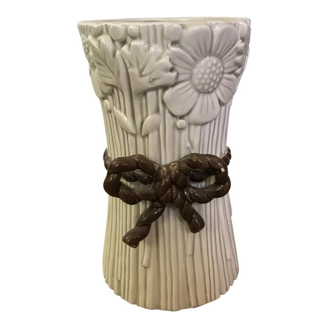 Fitz & Floyd Flower Bunch Vase For Sale