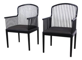 Image of Gray Side Chairs