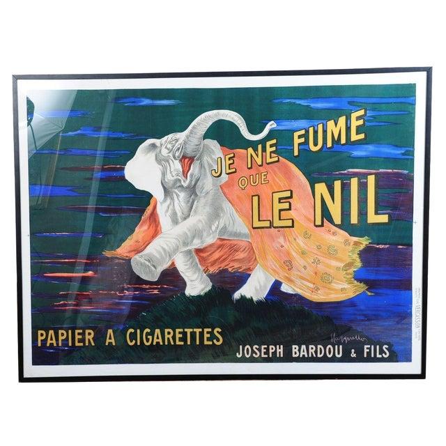 Je Ne Fume Que Le Nil-Original 20s Elephant Poster - Image 1 of 9