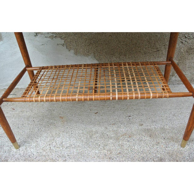 DUX Folke Ohlsson Two-Tier Table for Dux For Sale - Image 4 of 8