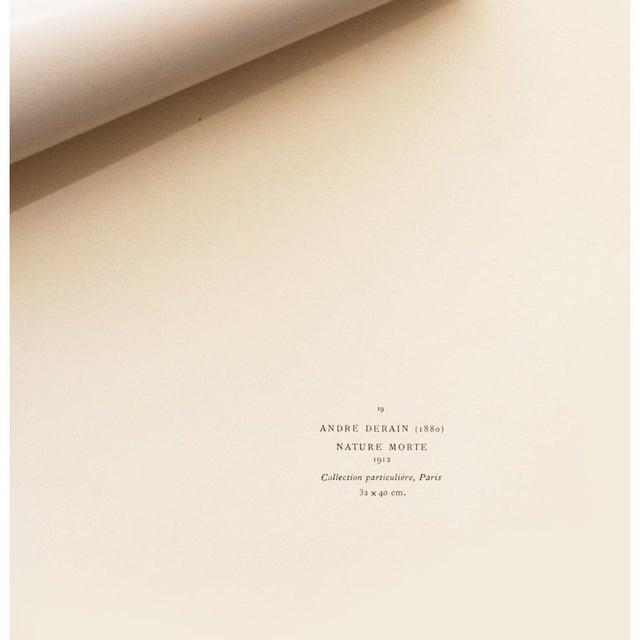 1947 André Derain, First Edition Period Parisian Still Life Lithograph For Sale In Dallas - Image 6 of 8