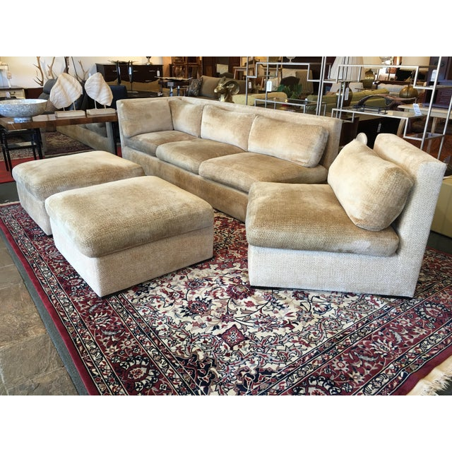 Kreiss 4-Piece Beige Sectional - Image 10 of 10