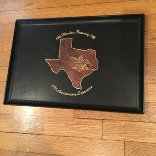 Vintage Houston Texas Brewery Tray Preview