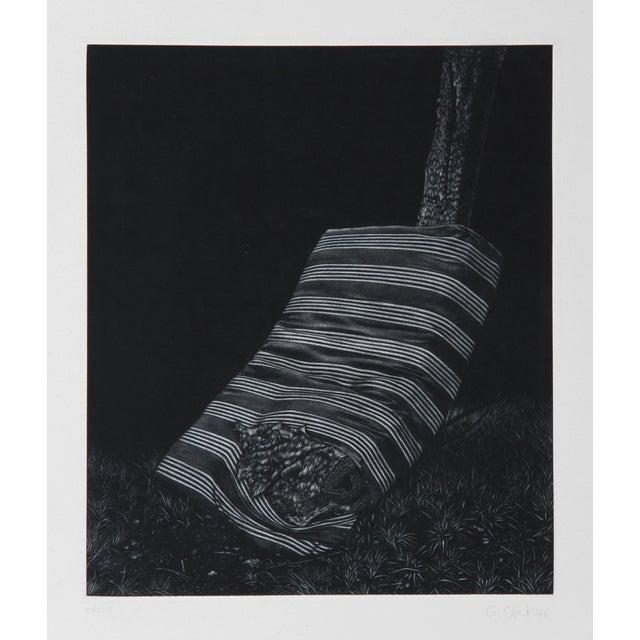 Gerde Ebert, Mattress, Mezzotint For Sale