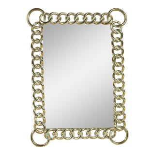 Late 19th Century English Chain Link Photo Frame For Sale