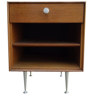 Mid-Century George Nelson Thin Edge Side Table or Nightstand For Sale