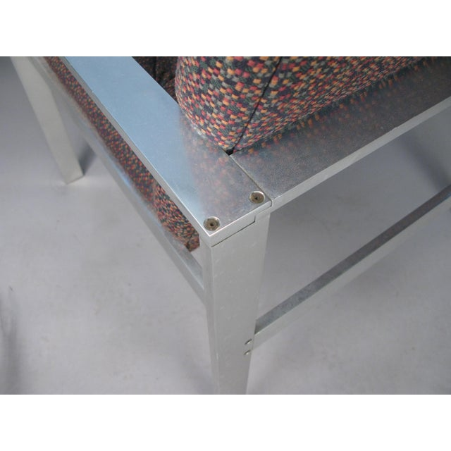 1960s Vintage Aluminum Frame Lounge Chairs by Harvey Probber-a Pair For Sale In New York - Image 6 of 7