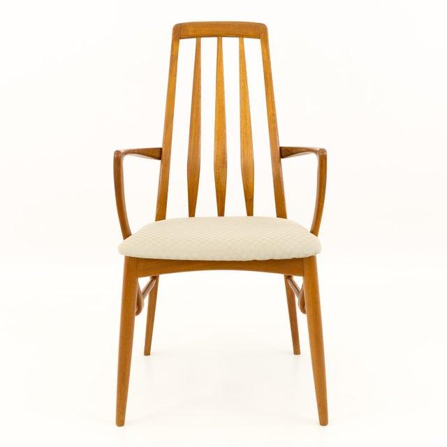 Koefoeds Hornslet Vintage Mid Century Niels Koefoed Hornslet Danish Teak Eva Dining Chairs - Set of 6 For Sale - Image 4 of 13