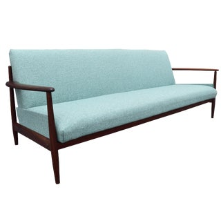 Vintage Danish Modern Teak Sofa in the Manner of Grete Jalk For Sale