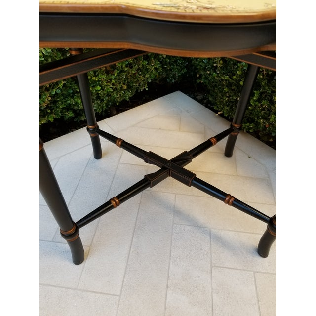 Porcelain Tray Table For Sale In Los Angeles - Image 6 of 9