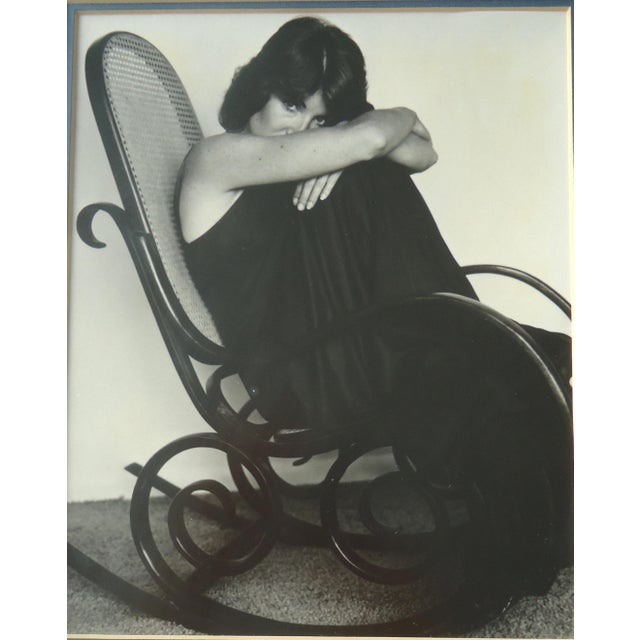 """""""Woman in Bentwood Rocker"""" Vintage Photograph - Image 3 of 3"""