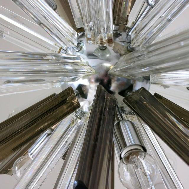 Italian Italian Mid-Century Murano Glass Chandelier by Venini For Sale - Image 3 of 8