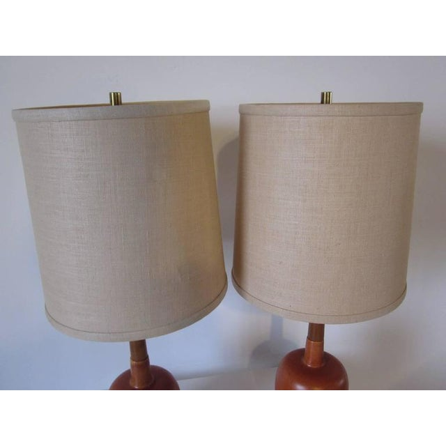 Exquisite arne bang styled danish pottery table lamps decaso arne bang styled danish pottery table lamps image 5 of 7 mozeypictures Choice Image