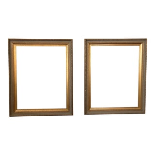 Carved Gilt Wood Frames - a Pair For Sale