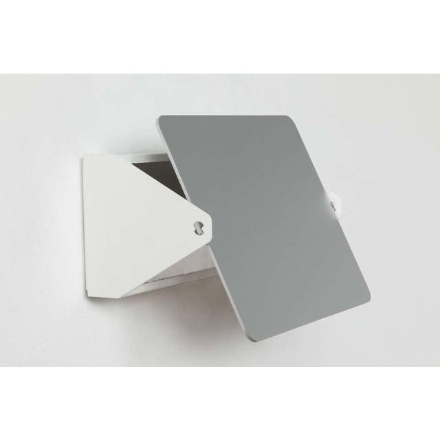 2010s Charlotte Perriand Cp1 Brushed Aluminum Wall Lights - a Pair For Sale - Image 5 of 11