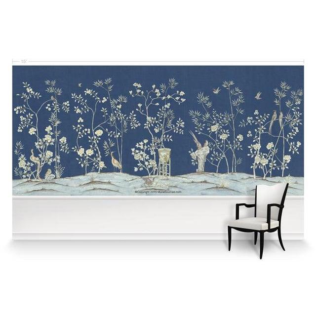 "Chinoiserie Casa Cosima Royal Brighton Wallpaper Mural - 2 Panels 72"" W X 96"" H For Sale - Image 3 of 6"