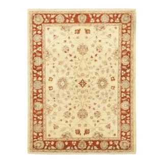 "Alma, Oushak Area Rug - 6' 5"" X 8' 7"" For Sale"