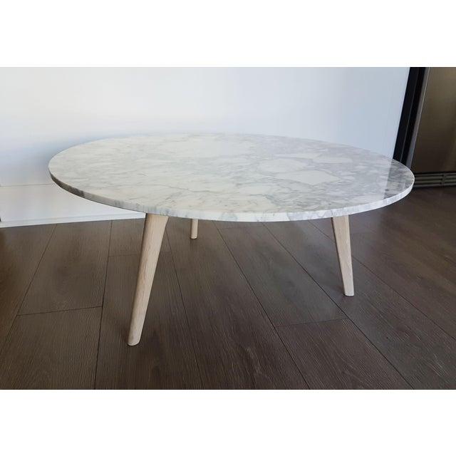 Marble Coffee Table Cleaner: Mara Marble & Oak Coffee Table