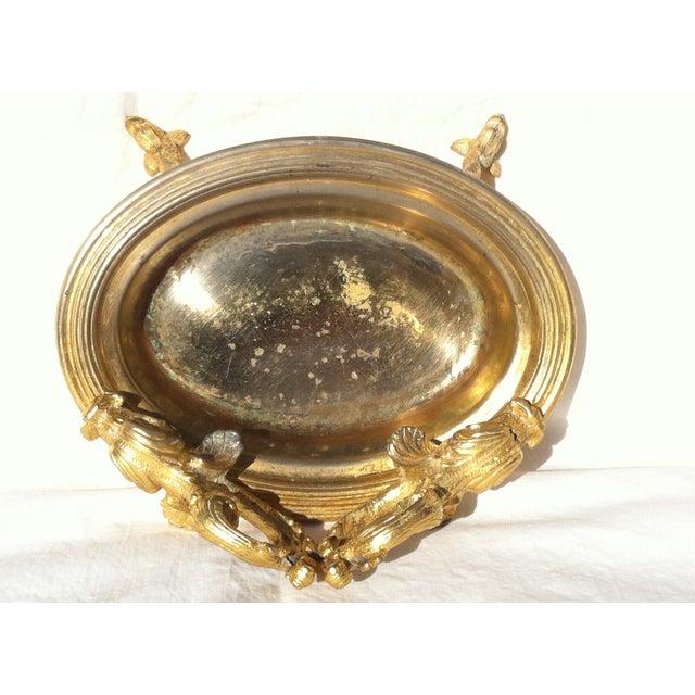 Dragon Head Gold Soap Dish - Image 3 of 8