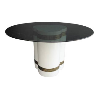 Mastercraft Dining Table Base by Bernhard Rohne For Sale