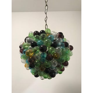 Rare French Blown Glass Grapes Chandelier Preview