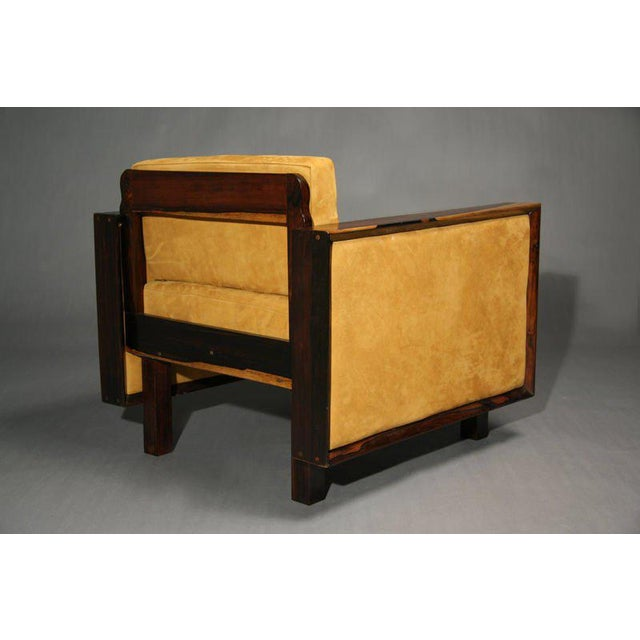 Mid-Century Modern Rosewood Chairs For Sale In Los Angeles - Image 6 of 11
