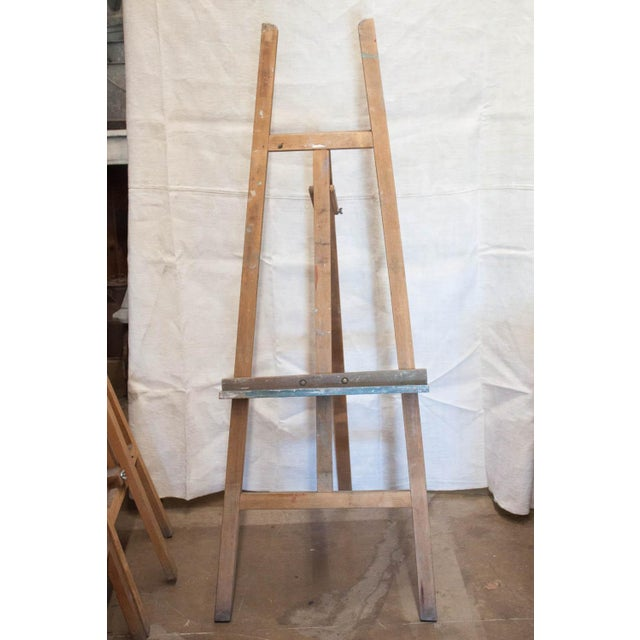 Vintage French Adjustable Painter's Easel - Image 3 of 7
