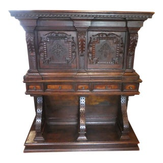 17th / 18th Century Italian Tuscan Style Desk on Stand For Sale