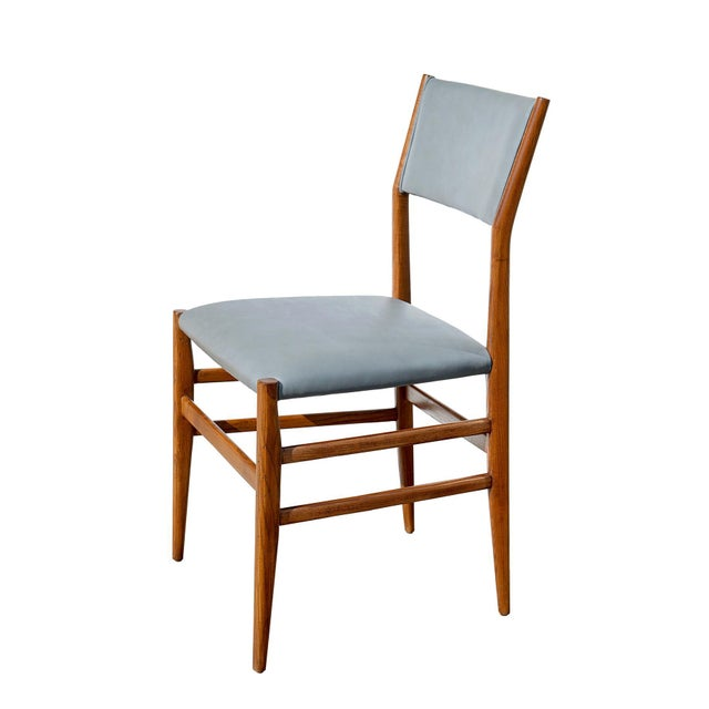 "Set of Eight ""Leggera"" Dining Chairs by Gio Ponti For Sale - Image 12 of 12"