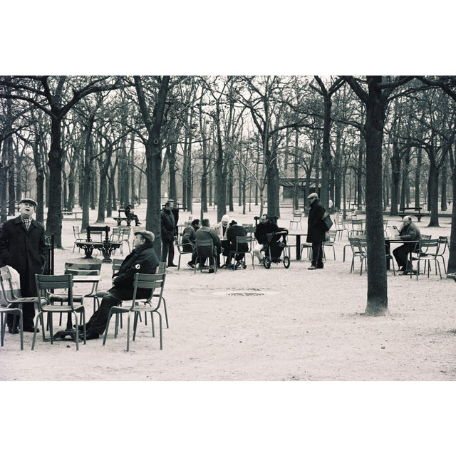 "Portraiture ""Old Men of Paris"" Original Framed Photo For Sale - Image 3 of 3"