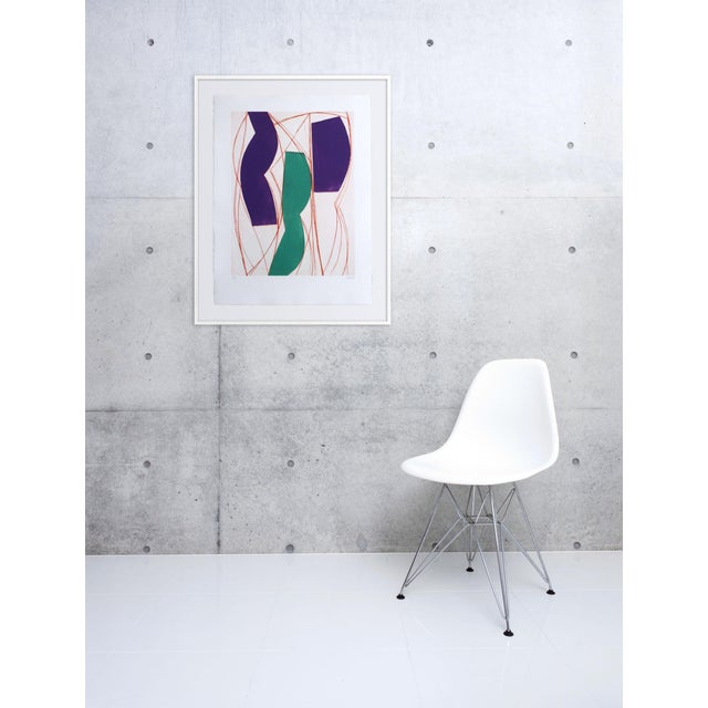 Aquatinte on BFK Rives paper Edition: Multiple, Unframed. Clément's work fluctuates between painting and sculpture, a back...