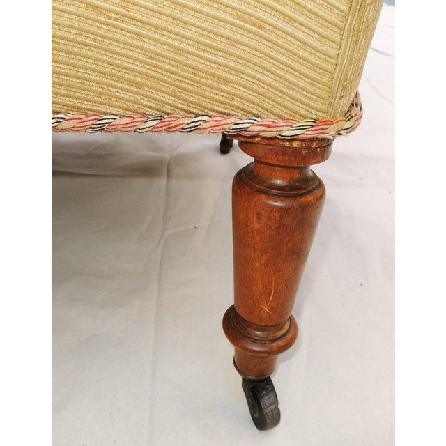Late 19th Century Pair of Napoleon III Armchairs For Sale - Image 5 of 8