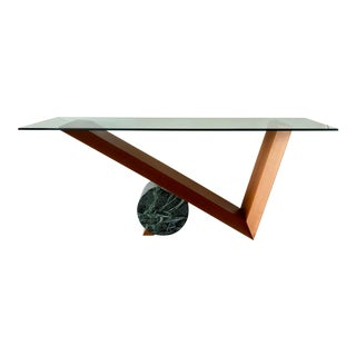 Postmodern Italian Console Table For Sale