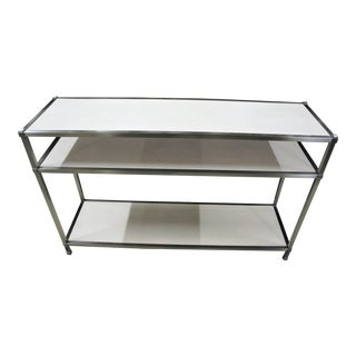 "Modern Bassett 48"" Roya Ivory Console Table For Sale"