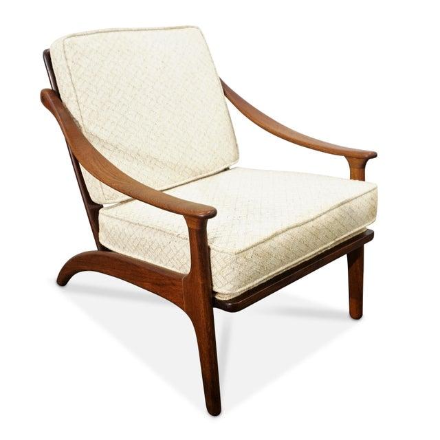 Brown Arne Hovmand Olsen Chair by Mogens Kold For Sale - Image 8 of 8