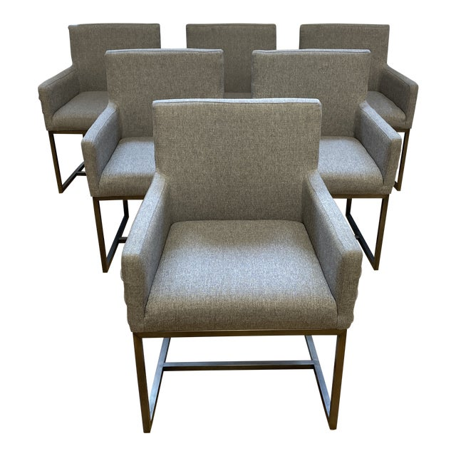 Universal Furniture Cooper Chairs - Set of Six For Sale