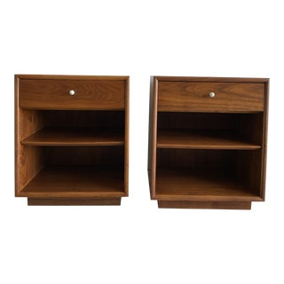 Mid-Century Modern Kipp Stewart Nightstands - a Pair For Sale