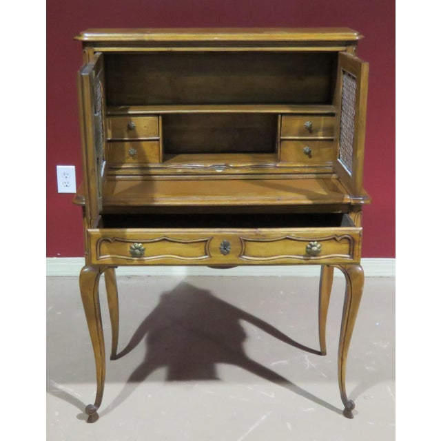 Country 19th C. Country French Writing Desk For Sale - Image 3 of 13